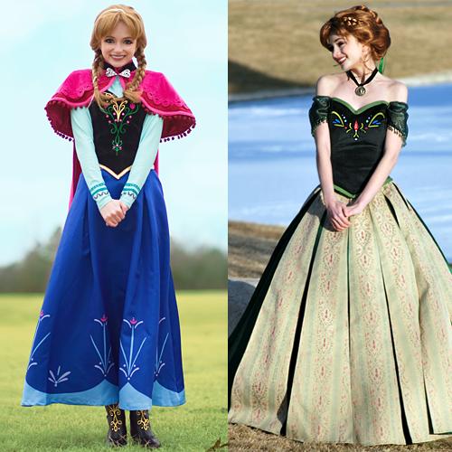 Ice Princess Dress Options