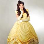 Peyton as Belle