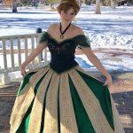 Amanda as the Ice Princess (Coronation)