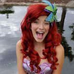 Amanda as Little Mermaid (Fin)