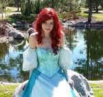 Amanda as Little Mermaid (Gown)