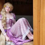 Amanda as Rapunzel