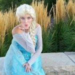 Amanda as the Snow Queen