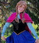 Amanda as the Ice Princess