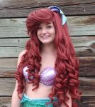 Sam as the Little Mermaid- Fin