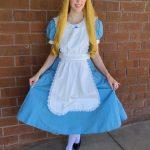 Chrissy as Alice in Wonderland