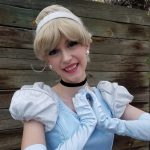 Chrissy as Cinderella