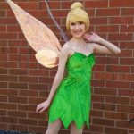 Chrissy as Tinkerbell