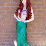 Chrissy as Little Mermaid Fin