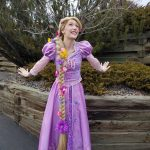 Chrissy as Rapunzel