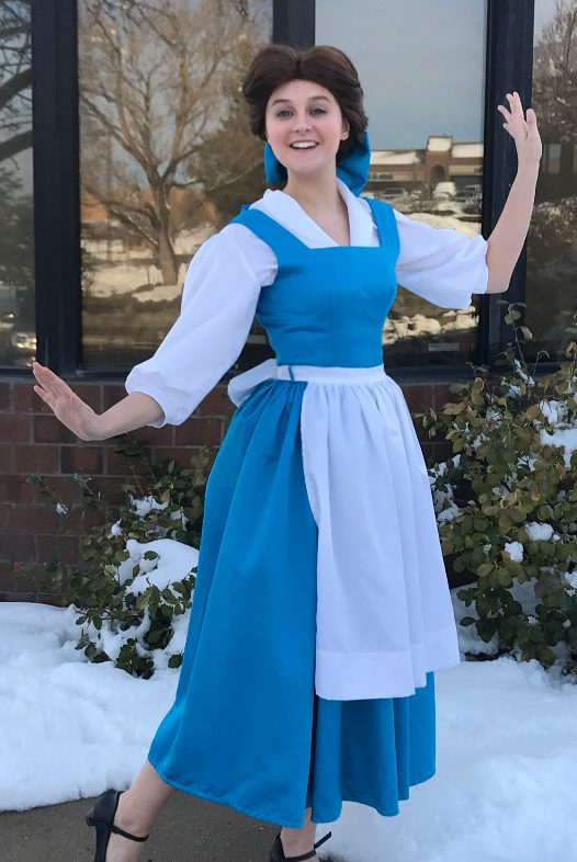 f0236489c9a1 Abby as Belle (Blue Dress) - Princess Ever After