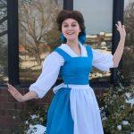 Abby as Belle (Blue Dress)