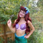 Molly as Little Mermaid Fin