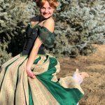 Molly as Ice Princess Coronation