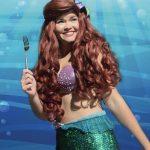 Ella as Little Mermaid (Fin)