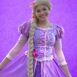Ella as Rapunzel