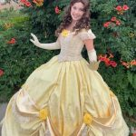 Kelsey as Belle- Yellow Gown