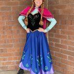 Rylee as Ice Princess- Traditional