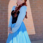 Kelsey as Little Mermaid Casual