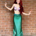 Rylee as Little Mermaid Fin