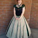 Melissa as Ice Princess- Coronation